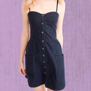 Abercrombie & Fitch Button Up Dress Small